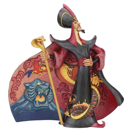 DISNEY ALADDIN JAFAR VILLAIN 9IN FIGURINE (C: 1-1-2)