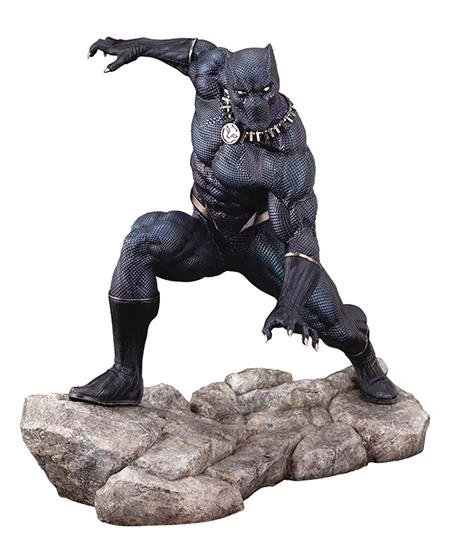 MARVEL BLACK PANTHER ARTFX PREMIER STATUE (Net) (C: 1-1-2)