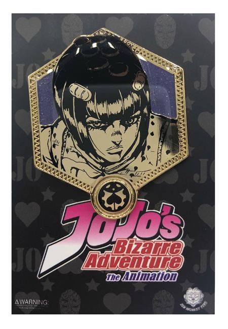 JOJOS BIZARRE ADVENTURE GOLDEN BRUNO BUCCIARATI PIN (C: 1-1-