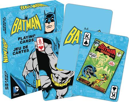 DC HEROES RETRO BATMAN PLAYING CARDS (C: 1-1-2)