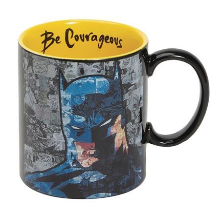 DC HEROES BATMAN BE COURAGEOUS MUG (C: 1-1-2)