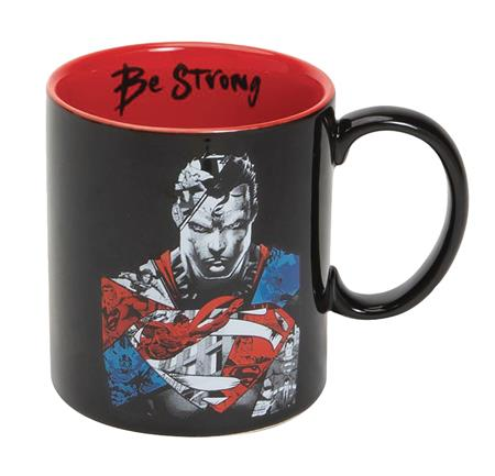 DC HEROES SUPERMAN BE STRONG MUG (C: 1-1-2)