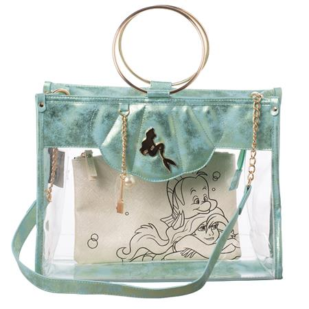 THE LITTLE MERMAID CLEAR TOTE W/ REMOVEABLE POUCH (C: 1-1-2)