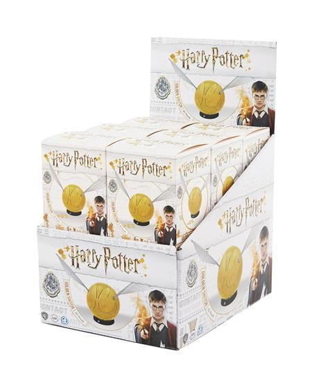 4D HARRY POTTER 3IN SNITCH PUZZLE 12CT DIS (C: 1-1-2)