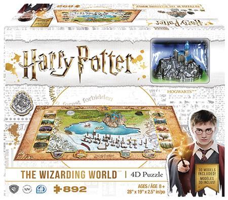 4D HARRY POTTER WIZARDING WORLD PUZZLE (C: 1-1-2)