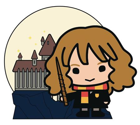 HARRY POTTER CHARM HOGWARTS HERMIONE PIN (C: 1-1-1)