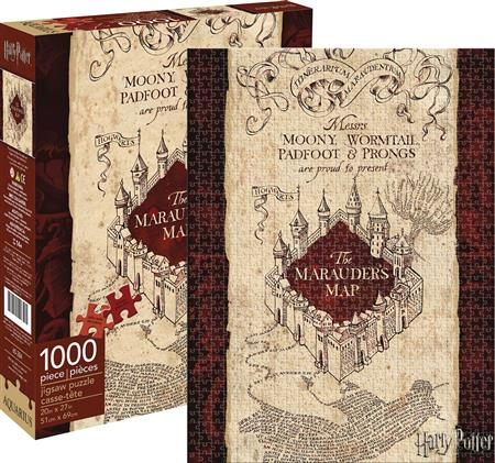 HARRY POTTER MARAUDERS MAP 1000PC PUZZLE (C: 1-1-2)