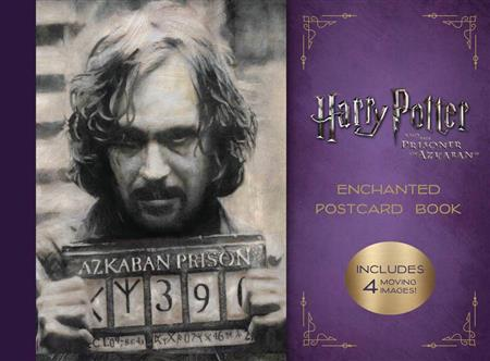 HP & PRISONER OF AZKABAN ENCHANTED POSTCARD BOOK (C: 1-1-2)