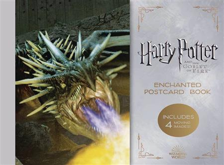 HARRY POTTER & GOBLET OF FIRE ENCHANTED POSTCARD BOOK (C: 1-