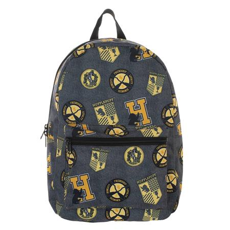 HARRY POTTER AOP SUBLIMATED BACKPACK HUFFLEPUFF (C: 1-1-2)