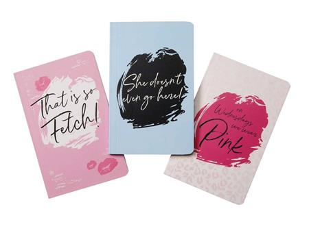 MEAN GIRLS POCKET NOTEBOOK COLLECTION (SET OF 3)