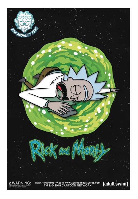 RICK AND MORTY SLEEPING RICK PIN (C: 1-1-2)