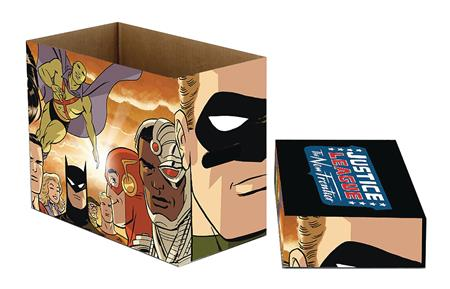 DC COMICS NEW FRONTIER 5PK SHORT COMIC STORAGE BOX (C: 1-1-2