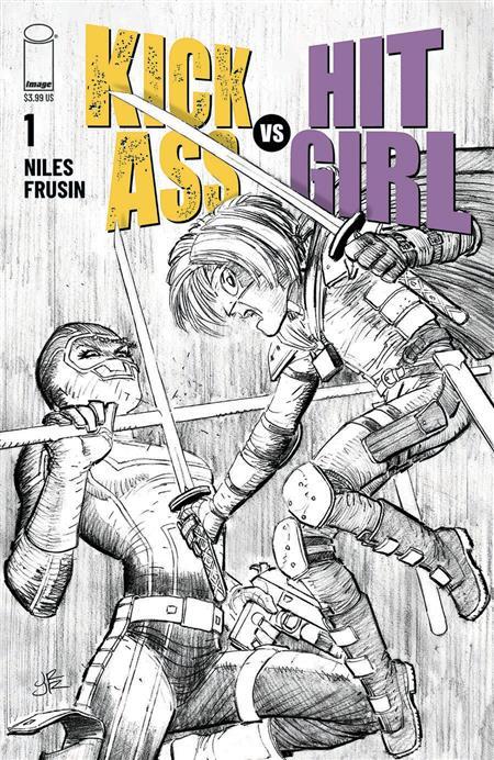 KICK-ASS VS HIT-GIRL #1 (OF 5) CVR B ROMITA JR (MR)