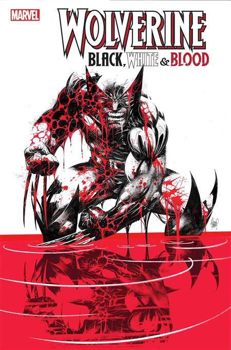 WOLVERINE BLACK WHITE BLOOD #1 (OF 4)