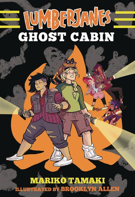 LUMBERJANES ILLUS SC NOVEL VOL 04 GHOST CABIN (C: 0-1-0)