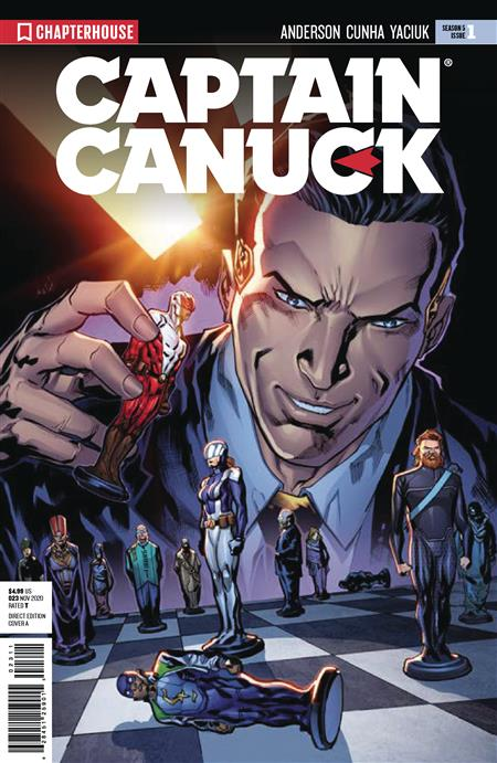 CAPTAIN CANUCK SEASON 5 #1 (C: 0-0-1)