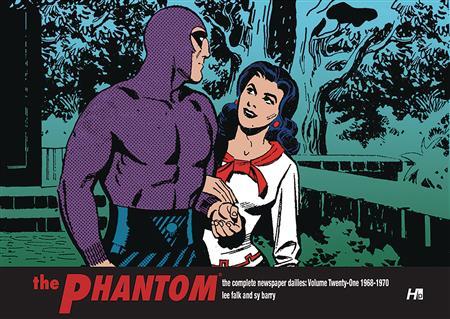 PHANTOM COMP DAILIES HC VOL 20 1966-1968