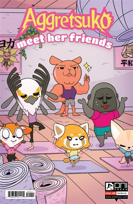 AGGRETSUKO MEET HER FRIENDS #1 CVR A DUBOIS