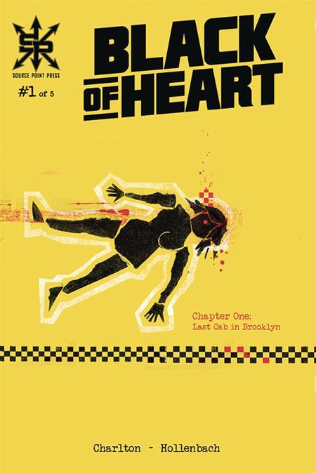 BLACK OF HEART #1 (OF 5) (MR)