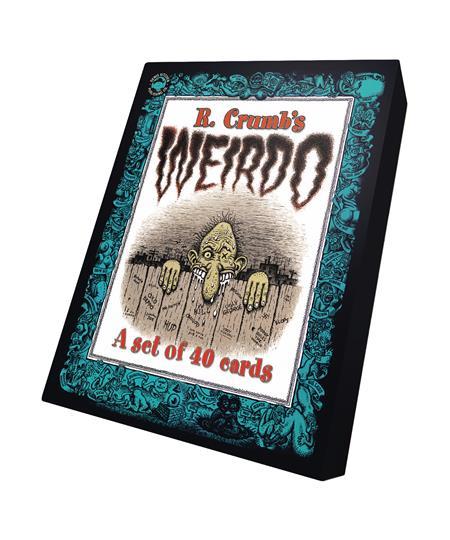 WEIRDO TRADING CARDS (C: 0-1-1)