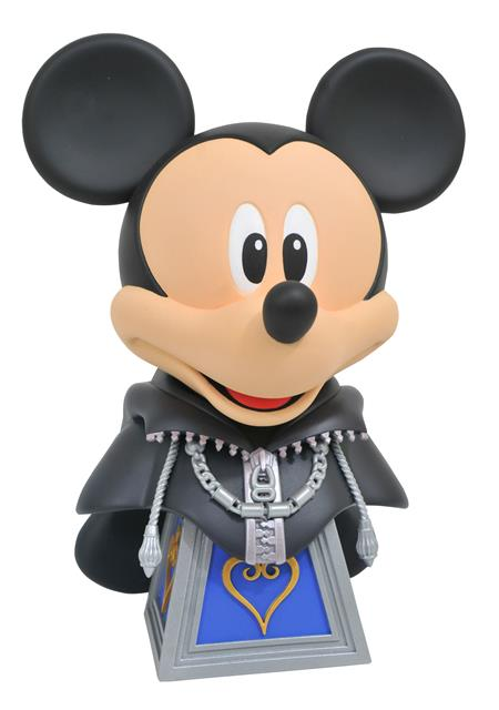 KINGDOM HEARTS LEGENDS IN 3D ORG XIII MICKEY 1/2 SCALE BUST