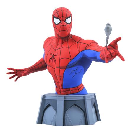 MARVEL ANIMATED SPIDER-MAN BUST (C: 1-1-2)