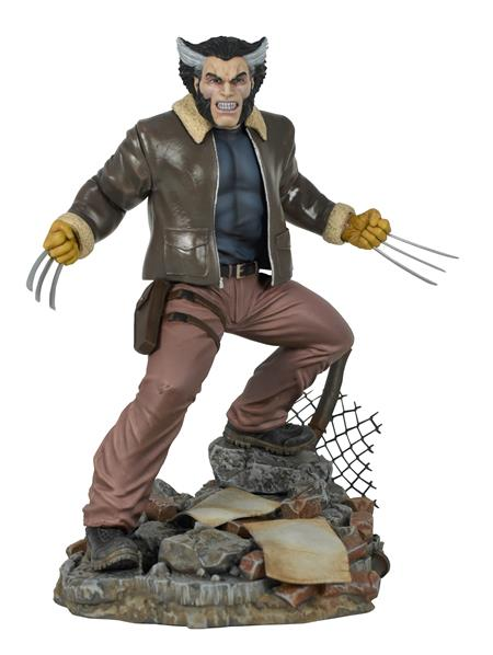 MARVEL GALLERY COMIC DAYS OF FUTURE PAST WOLVERINE STATUE (C