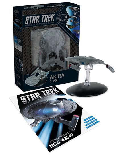STAR TREK STARSHIPS BEST OF FIG #13 NEBULA CLASS USS THUNDER