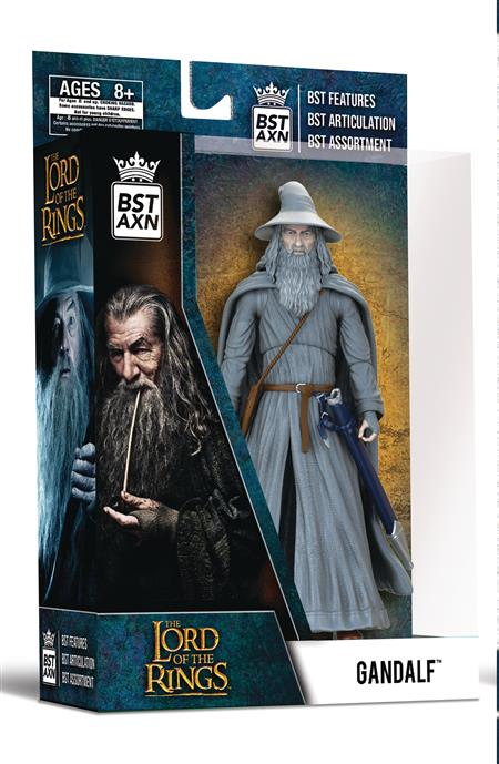 BST AXN LORD OF THE RINGS GANDALF THE GREY 5IN AF (C: 1-1-2)