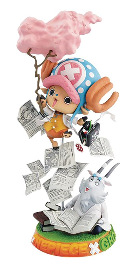 ONE PIECE CHALLENGE FROM GREEEEN TONY TONY CHOPPER FIG (C: 1