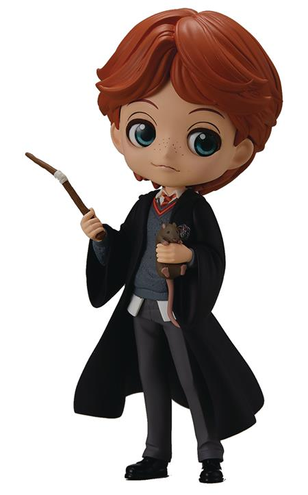 HARRY POTTER Q-POSKET RON WEASLEY W/ SCABBERS FIG (C: 1-1-2)