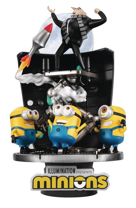 MINIONS DS-050 STEALING MOON D-STAGE SER 6IN STATUE (C: 1-1-
