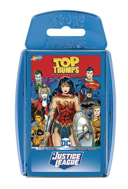 TOP TRUMPS DC JUSTICE LEAGUE CARD GAME (C: 1-1-2)