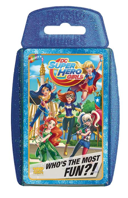 TOP TRUMPS DC SUPERHERO GIRLS CARD GAME (C: 1-1-2)