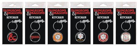 DUNGEONS & DRAGONS 36PC KEYCHAIN ASST