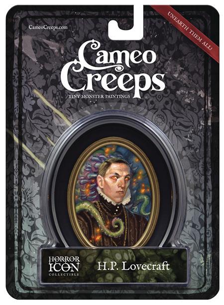 CAMEOCREEPS H.P. LOVERCRAFT MINI CAMEO PORTRAIT