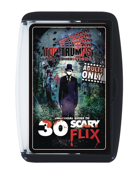 TOP TRUMPS 30 SCARY FLIX UNOFFICIAL GUIDE GAME (C: 1-1-2)