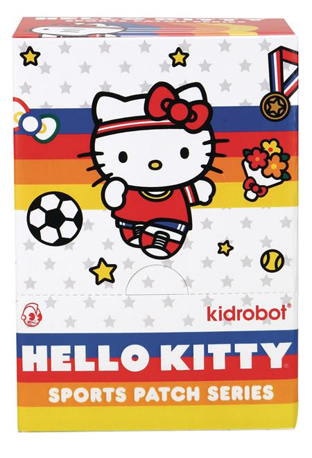 HELLO KITTY SPORTS EMBROIDERED PATCH 24PC BMB DS (C: 1-1-2)