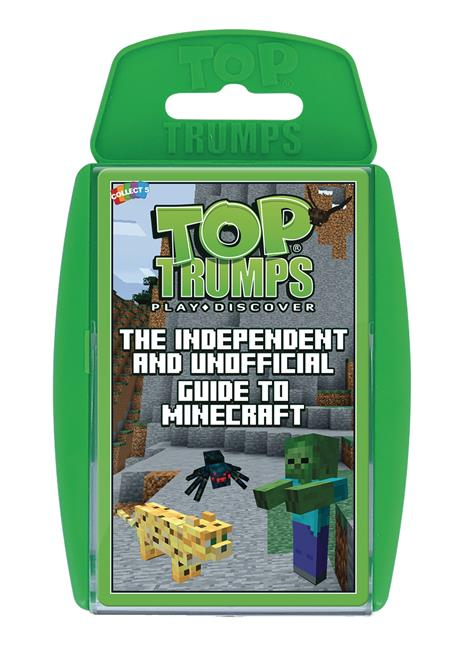 TOP TRUMPS MINECRAFT UNOFFICIAL GUIDE GAME (C: 1-1-2)