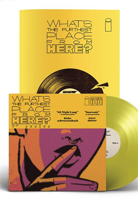 WHATS THE FURTHEST PLACE FROM HERE #1 DLX ED 7 INCH RECORD