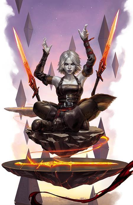 MAGIC MASTER OF METAL #1 CVR D 10 COPY INCV MERCADO