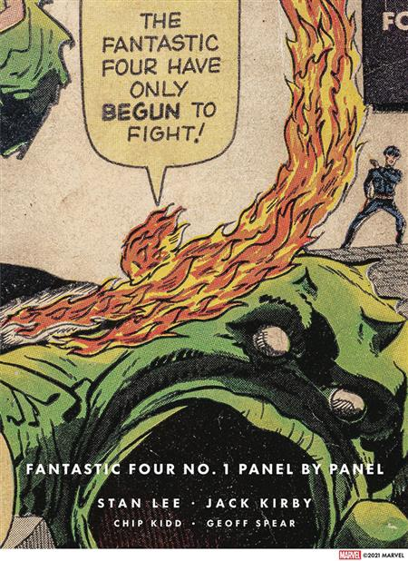 FANTASTIC FOUR #1 PANEL BY PANEL (C: 0-1-1)