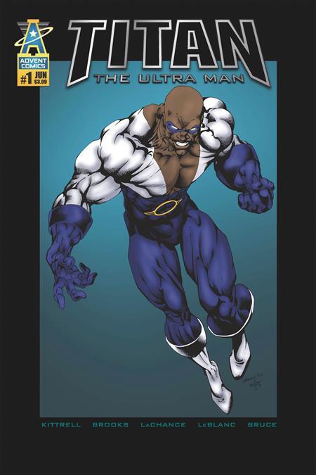 TITAN THE ULTRA MAN #1