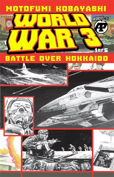 WORLD WAR 3 BATTLE OVER HOKKAIDO #1 (OF 5)