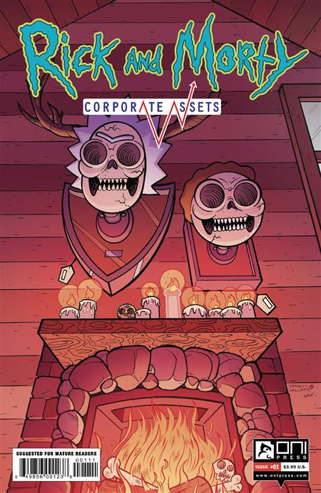 RICK AND MORTY CORPORATE ASSESTS #1 CVR A WILLIAMS