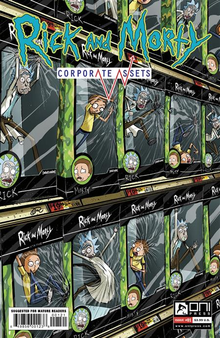 RICK AND MORTY CORPORATE ASSESTS #1 CVR B LEE