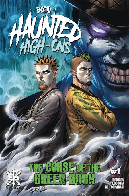 TWIZTID HAUNTED HIGH ONS THE CURSE OF THE GREEN BOOK #1 (OF