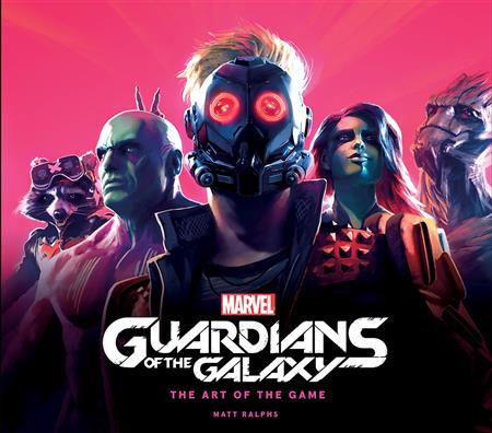 MARVEL GUARDIANS GALAXY ART OF THE GAME HC (C: 0-0-1)