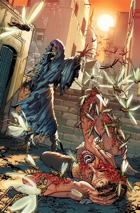 MYTHS & LEGENDS QUARTERLY BLOOD PHARAOH #1 CVR B RIVEIRO